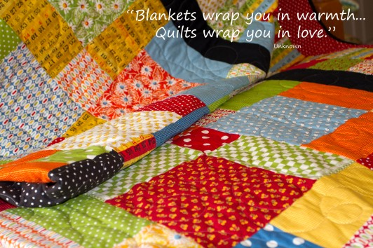 A quilt for my daughter www.lifeatthecottage.com