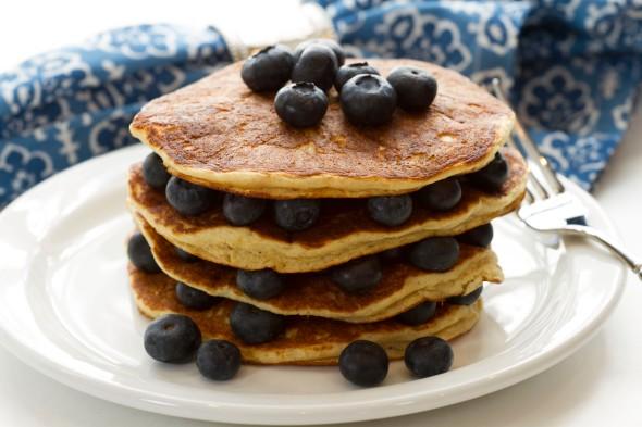 Gluten Free Pancakes www.lifeatthecottage.com