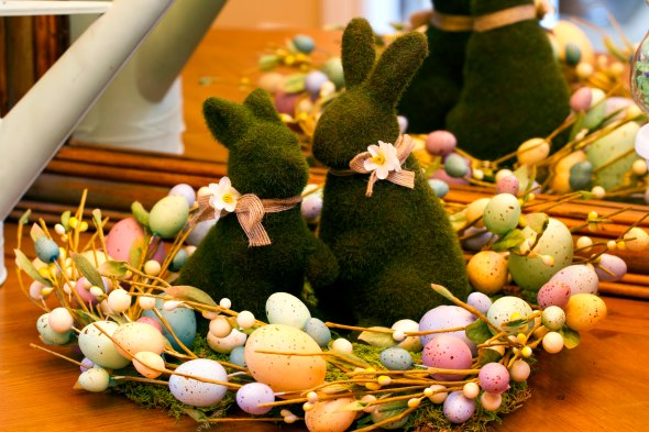 Spring/ Easter Bunnies www.lifeatthecottage.com