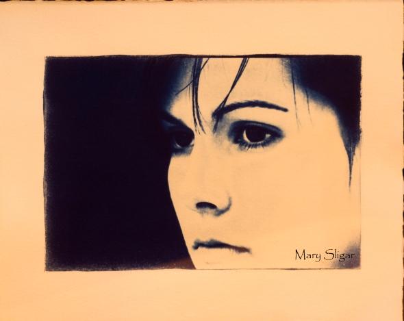 Cyanotype Print www.lifeatthecottage.com