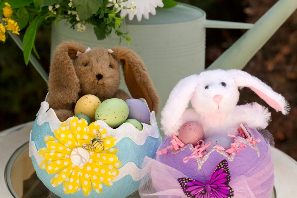 Easter Basket Tutorial www.lifeatthecottage.com