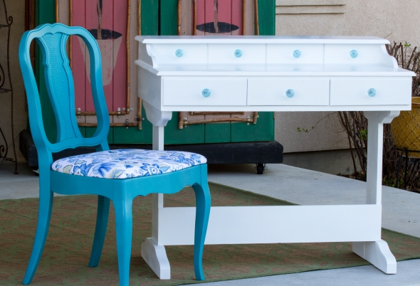 new look for old furniture www.lifeatthecottage.com