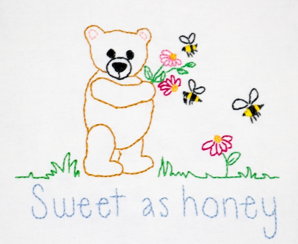 Block 4, Sweet as honey www.lifeatthecottage.com