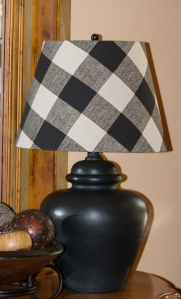 Lamp and Shade Makeover www.lifeatthecottage.com