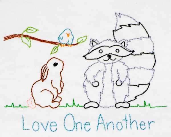 Block 5, Love One Another www.lifeatthecottage.com