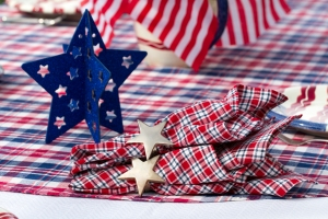 Silver Star Napkin Rings www.lifeatthecottage.com